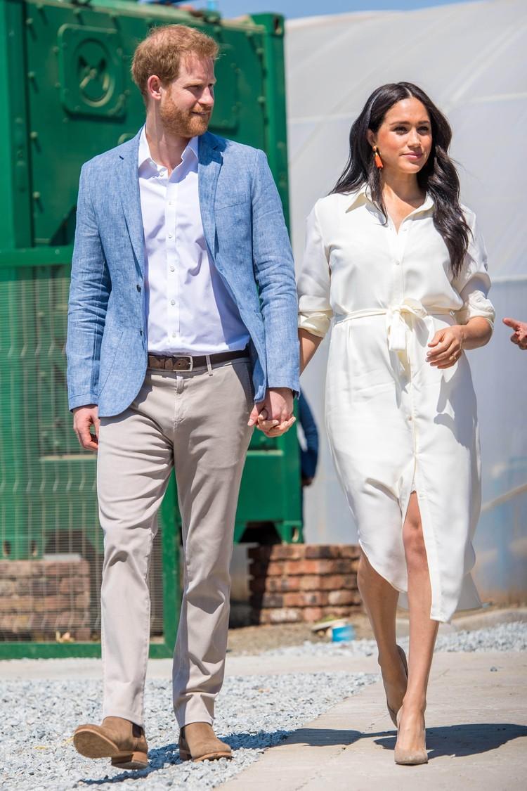 Принц Гарри с супругой Меган.