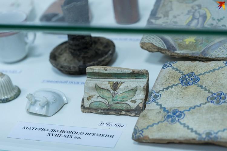 На выставке в Краеведческом музее представлены древности от эпохи мезолита до конца 18 века