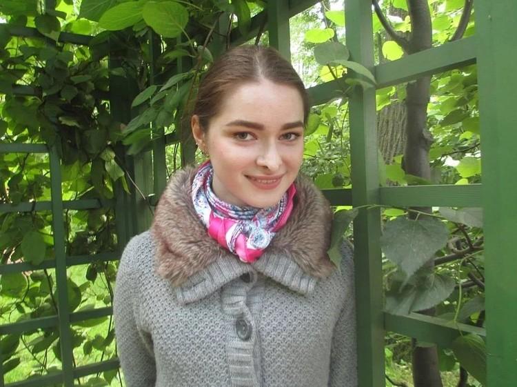 Анастасия Ещенко приехала в Петербург из Краснодарского края