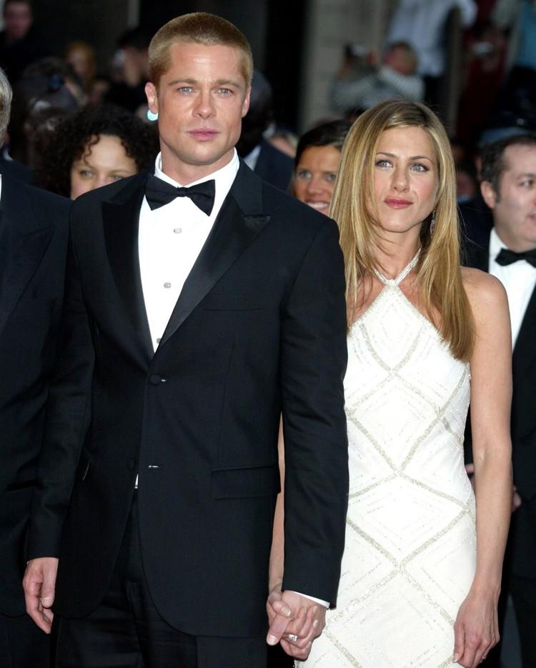 Дженнифер Энистон и Брэд Питт прожили в браке пять лет.