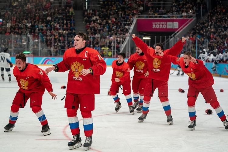 Хоккеисты сборной России выиграли финальный матч Третьих Юношеских Зимних Олимпийских игр у команды США