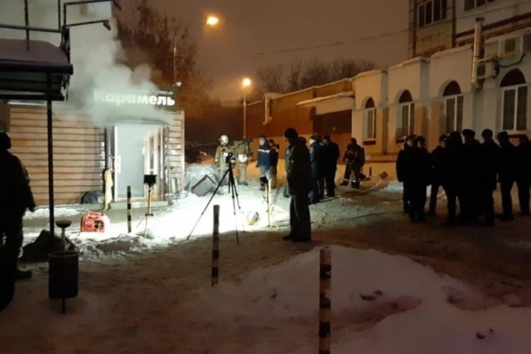 Ночью спасатели застали жуткую картину. Фото: краевое правительство.