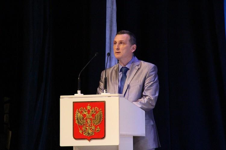 Михаил Соболев. фото: Пресс-служба администрации Арсеньевского городского округа.