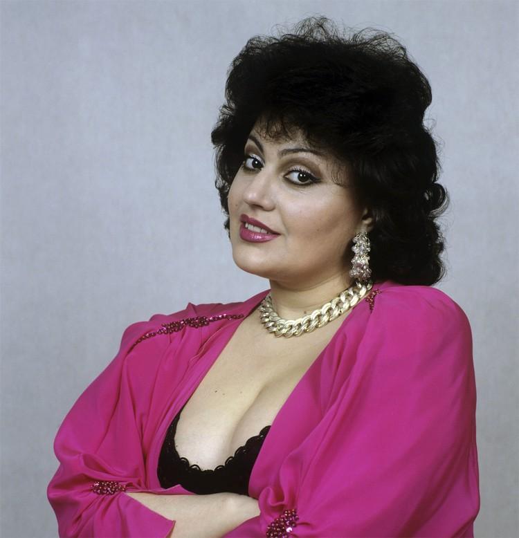 Ирина Отиева, 1989 год.