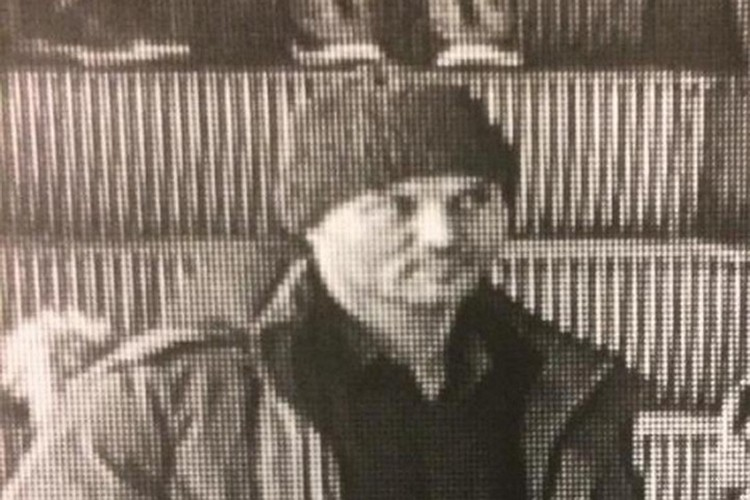 Виктор Гаврилов, кадр с записи видеокамеры наблюдения. Фото: СК РФ