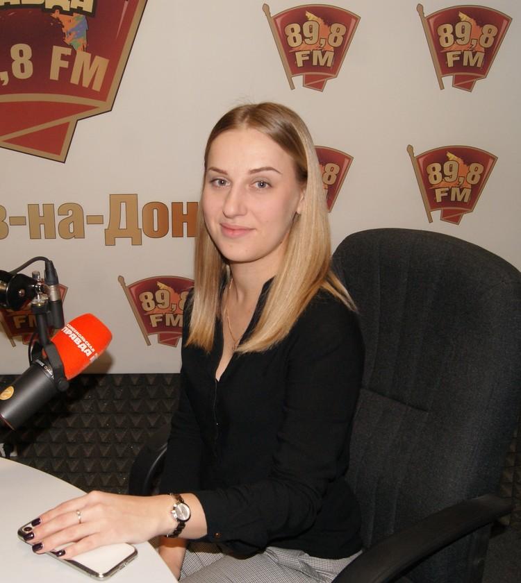 В студии радио «Комсомольская правда» - Ростов» на волне 89,8 FM врач-инфекционист Иринв Кошевко.