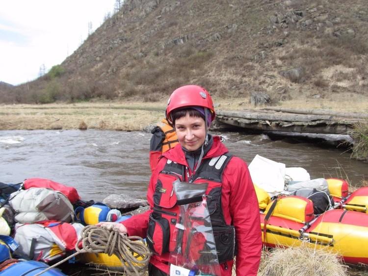Татьяна Хмелевская со студенчества занимается спасением людей