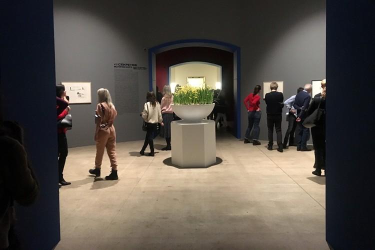 На выставку привезли около 180 произведений гениального художника