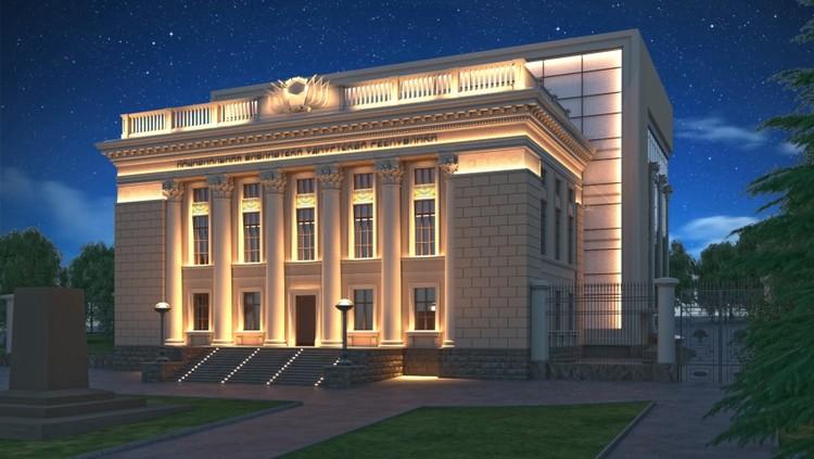 Так будет выглядеть Национальная библиотека в 2021 году. Эскиз