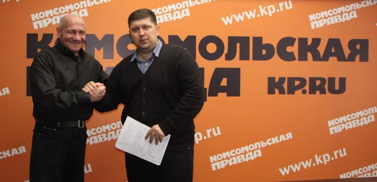 Валерий Локтионов занял второе место по итогам голосования