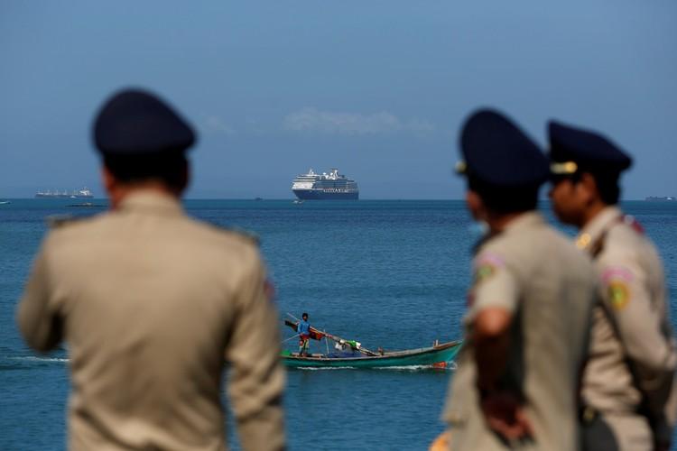 Единственной страной, которая разрешила лайнеру Westerdam причалить, стала Камбоджа.