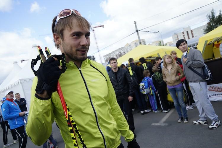 Антон не верит в результат допинг проб.