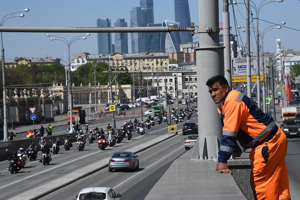 Москва позволяет приезжим заработать и стать востребованным. Фото: Михаил ФРОЛОВ