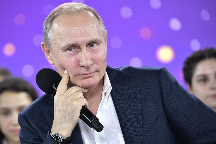Президент России Владимир Путин. Фото: Алексей Никольский / ТАСС