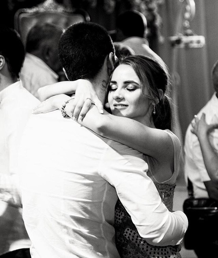 Влюбленные сыграли свадьбу прошлой осенью