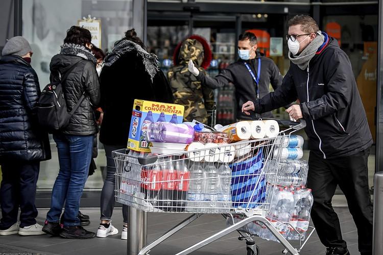 Сейчас на севере Италии царит настоящая паника