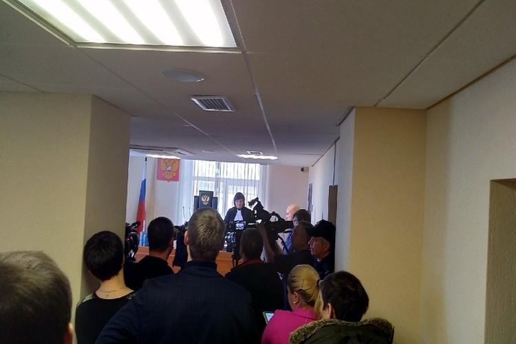 В Ленинском районном суде сегодня был большой ажиотаж