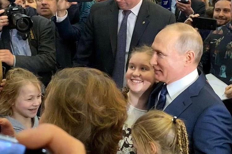 Владимир Путин приехал на «Остров мечты».