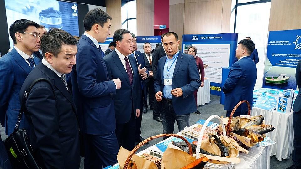 Премьер-министр РК Аскар МАМИН: «Мы должны возродить рыбную отрасль...»