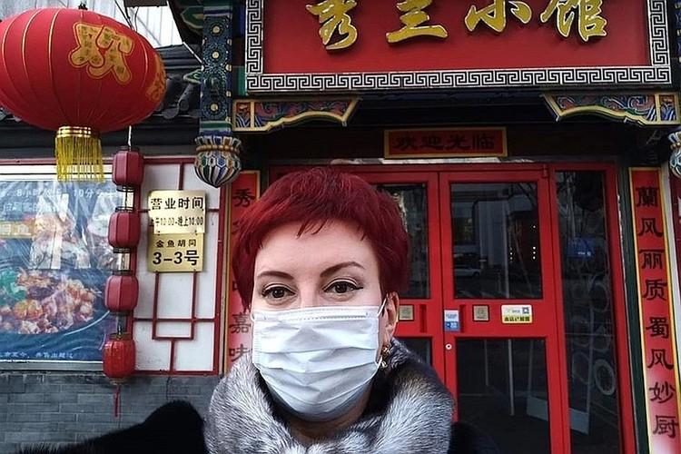 Дарья Асламова побывала в командировке в Китае.