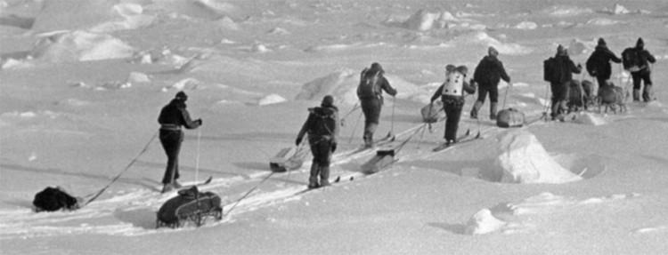 Антарктический поход. Фото из архива команды