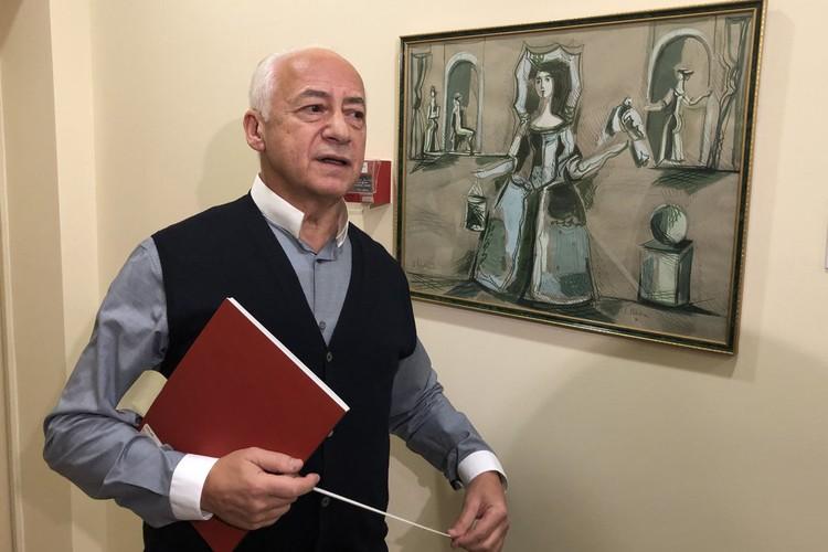 Новому залу Владимир Теодорович подарил свою коллекцию современного искусства — 26 произведений.