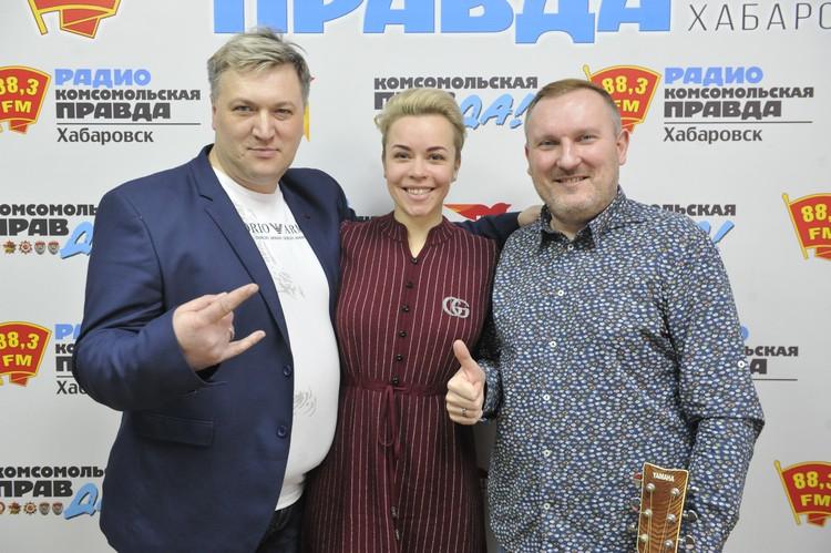 Алёна Барсукова и Сергей Трунин, музыканты