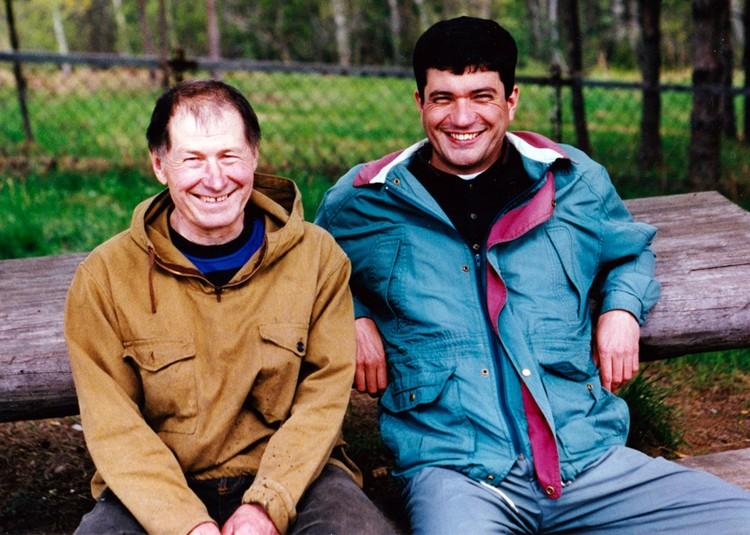 Моя первая встреча с Пажетновым, когда меня к нему привёз Василий Михайлович. 1997 год