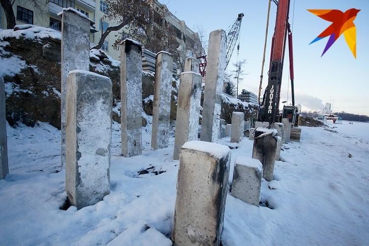 Реконструкцию набережной Исети продолжат в будущем году