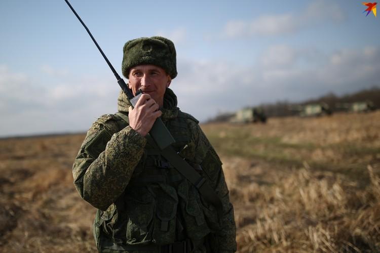 Начальник штаба второго гаубичного дивизиона Николай Засыпкин.