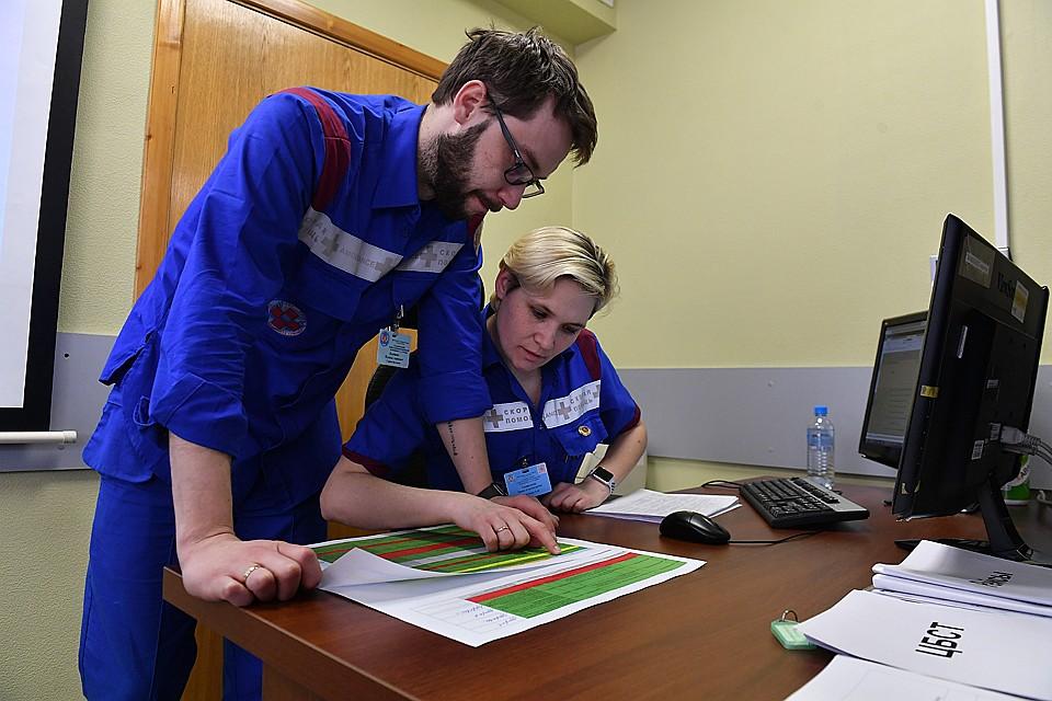 О назначении в бригаду «по коронавирусу» медики узнают, когда приезжают на смену Фото: Иван МАКЕЕВ