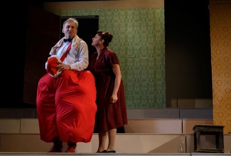 Сцена из постановки