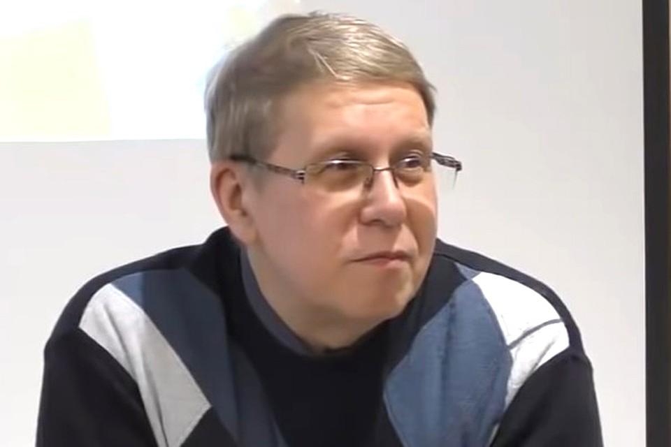 Писатель-прогностик Сергей Переслегин. Фото: Youtube