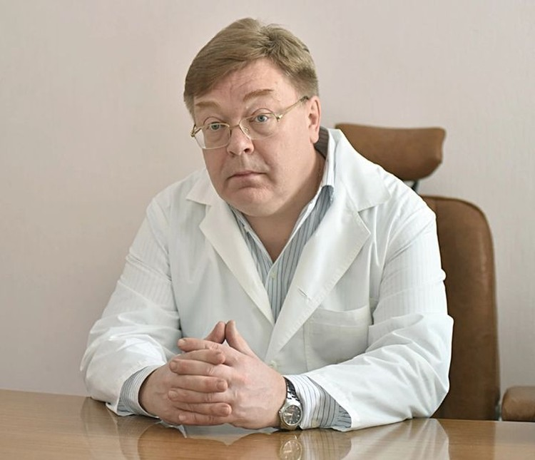 Андрей Громов, директор центра профилактики тромбозов.