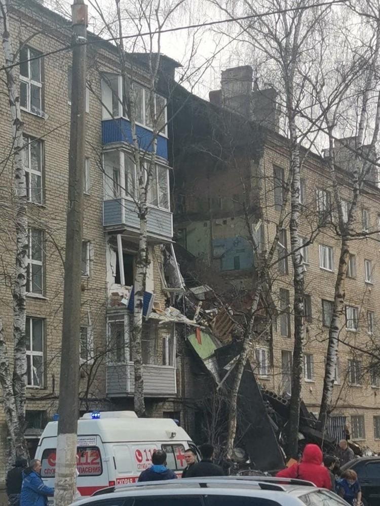 ЧП произошло по адресу Гагарина, 31.