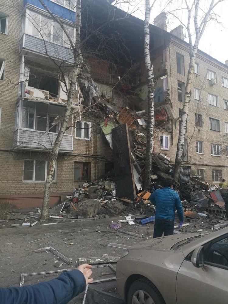 В Орехово-Зуево обрушилась жилая пятиэтажка.