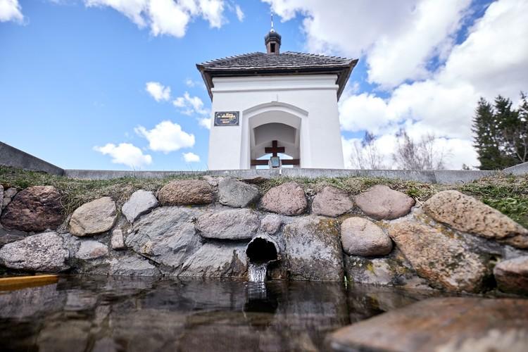 Источник в Ракове известен несколько веков.