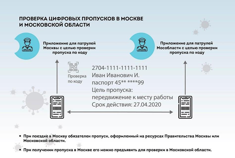 Цифровые пропуска в Москве в период самоизоляции: как ...