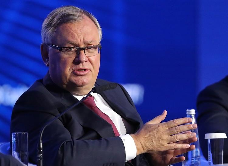 Председатель правления Банка ВТБ Андрей Костин. Фото: Сергей Карпухин/ТАСС