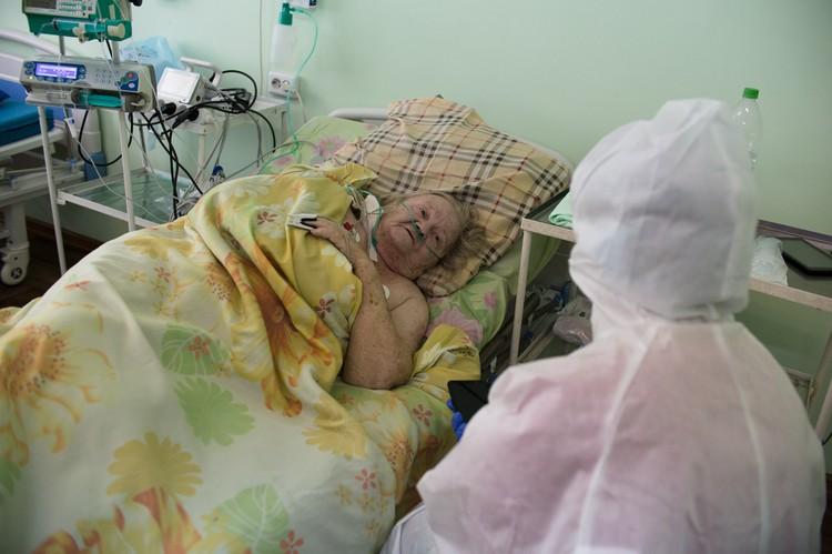 88-летнюю Надежду Варфломееву вытащили с того света.