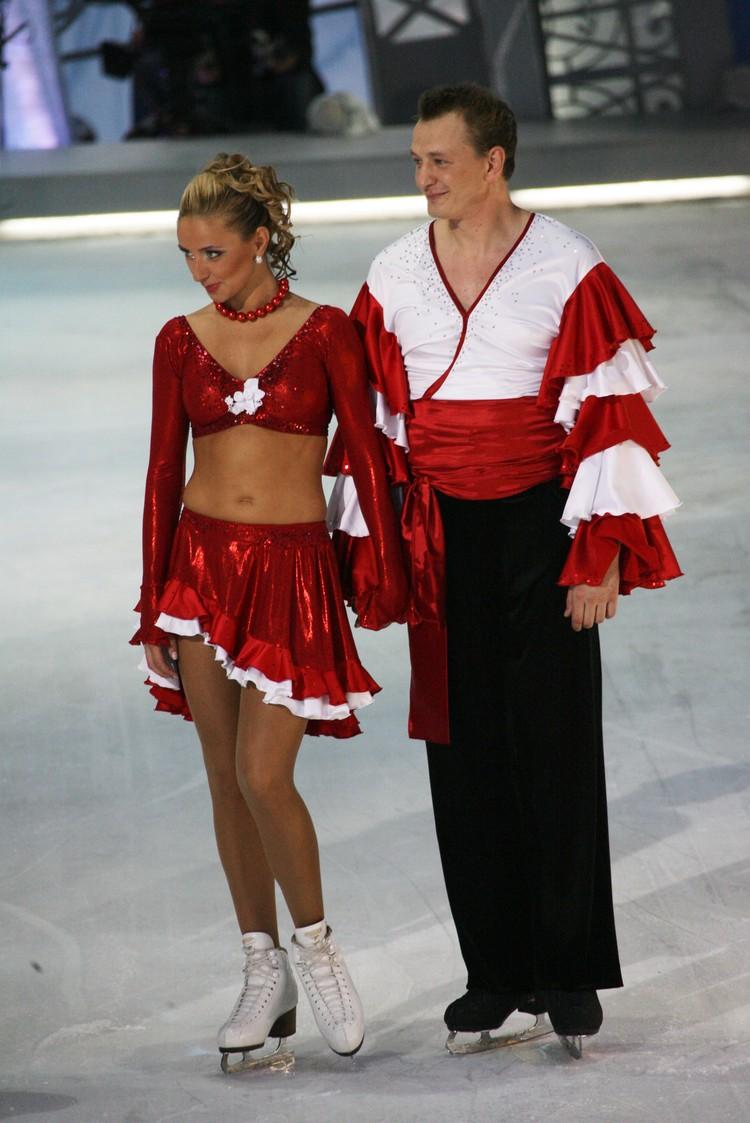 Татьяна и Марат вместе танцевали в шоу «Звезды на льду».