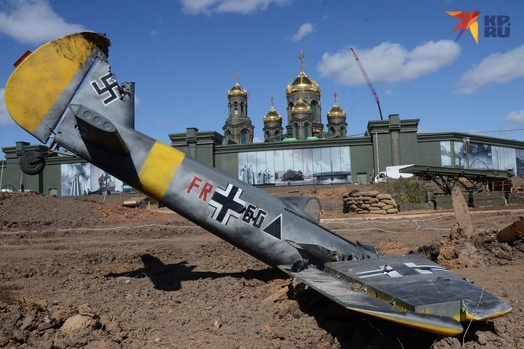 Территория храмового комплекса будет напоминать о славных победах русского оружия