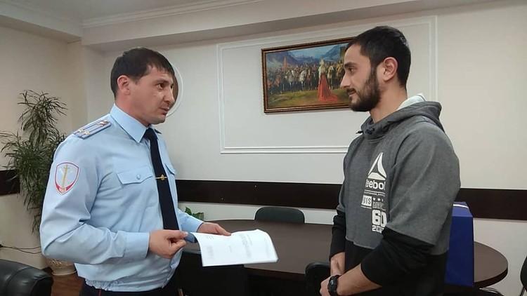 Помощь МВД Северной Осетии