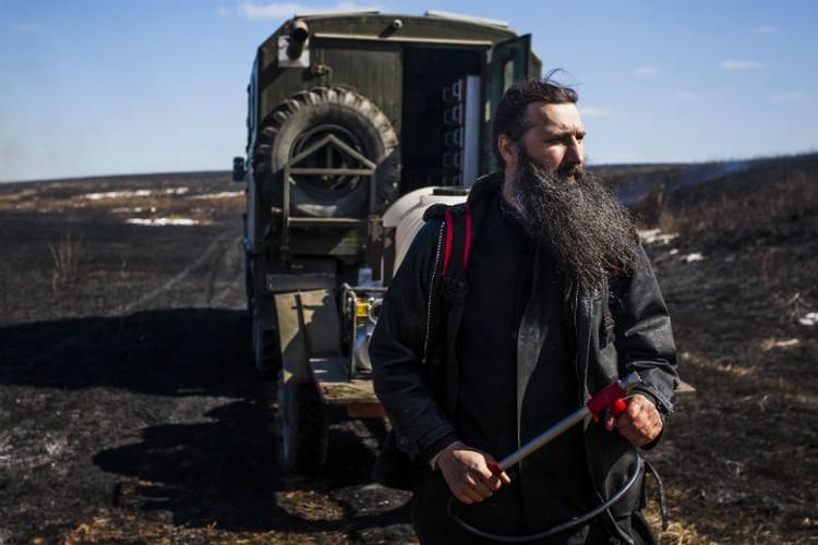 Готов к спасению сел и поселков! Фото: Агата КАРАСЕВА.