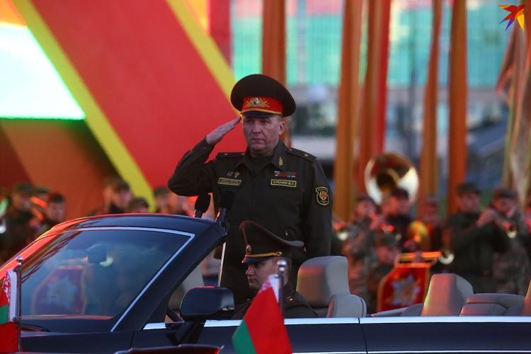 Хренин Виктор Геннадьевич - министр обороны Республики Беларусь