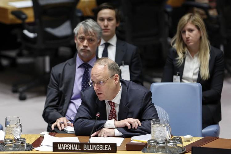 Спецпосланник президента США по контролю над вооружениями Маршалл Биллингсли