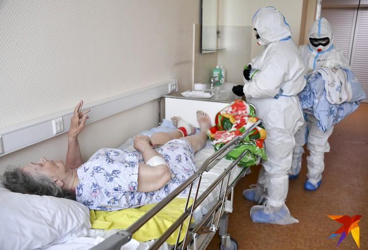 Здесь принимают и оказывают помощь самым тяжелым пациентам.