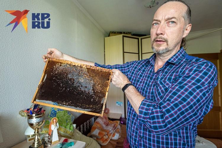 Андрей Кожарский — член Ассоциации Естественного Пчеловодства, амбассадор Колодного пчеловодства и распространитель идеи Городского пчеловодства