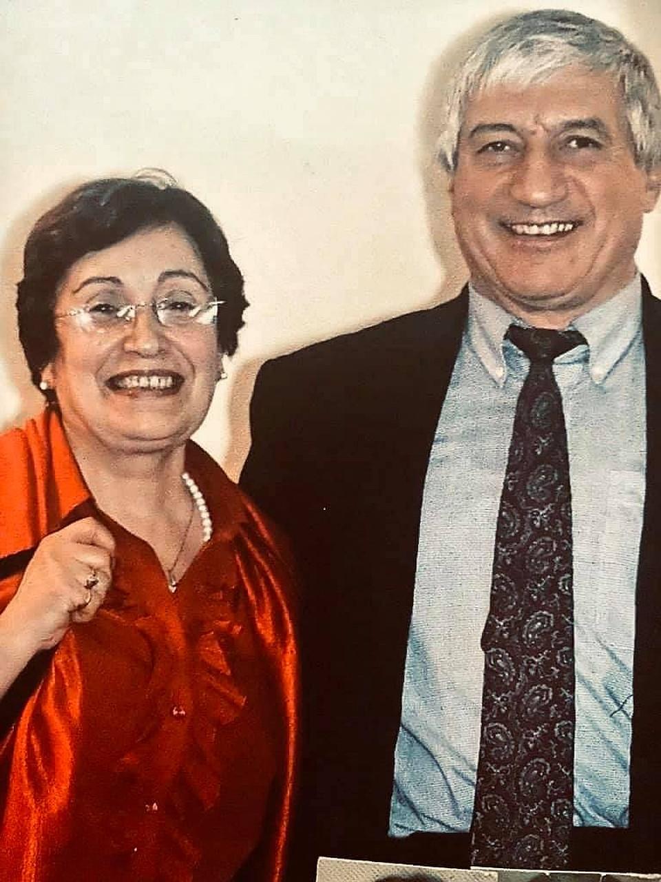 Асратян Арпик с мужем