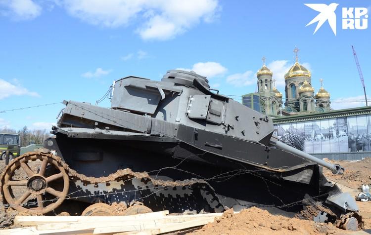Немецкий танк Т-IV.
